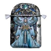 Bolsa Tarot Seda Celeste 23 x 16 cm (Motivo Iluminacion)