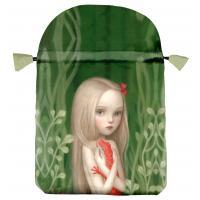 Bolsa Tarot Seda Celeste 23 x 16 cm (Motivo Ceccoli)