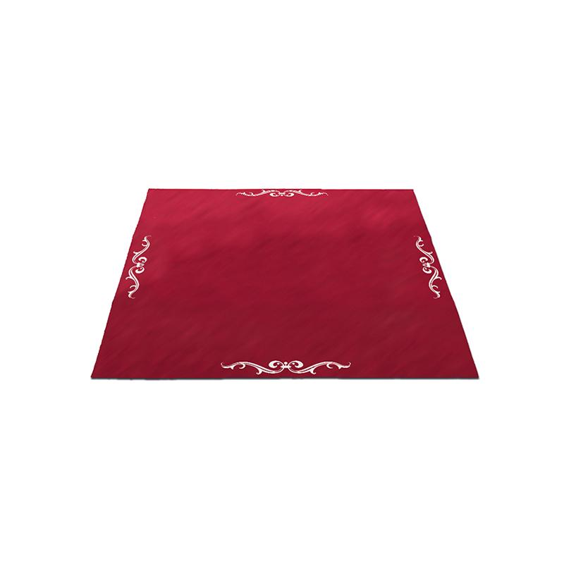 Tapete Terciopelo Lenormand 80 x 80 cm (Color: Rojo)
