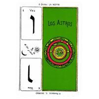 Tarot Egiziano (Estuche Terciopelo - Negro/Azul) (IT) (Instrucciones EN) (Dal) (02/16)