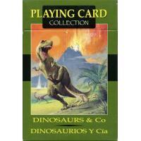 Cartas Dinosaurios & Cia (54 Cartas Juego) (Sca)