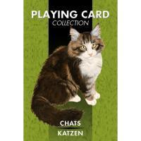 Cartas Gatos (54 Cartas Juego) (Sca)