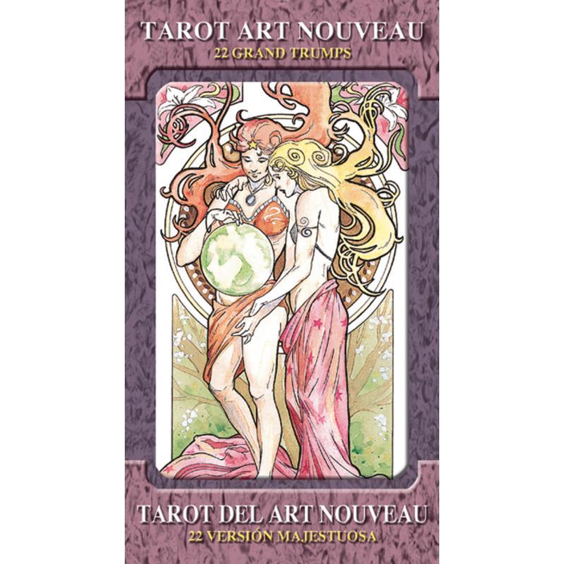 Tarot del Art Nouveau - version majestuosa (22 Arcanos grandes) (Lo Scarabeo)