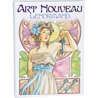 Oraculo Art Nouveau Lenormand (36 Cartas) (6 Idiomas) (Sca)