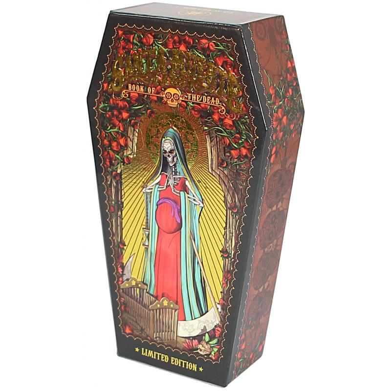 Tarot Coleccion Santa Muerte Tarot Limited Edition - Fabio Listrani - (Instrucciones en Multiidioma) (2017) (Sca) 1987 copias numeradas
