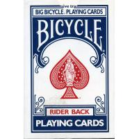 Cartas Bicycle Azul Mini (Naipes Americanos - 53 Cartas) (Four)