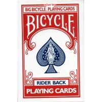 Cartas Bicycle Rojo Mini (Naipes Americanos - 53 Cartas) (Four) (HAS)