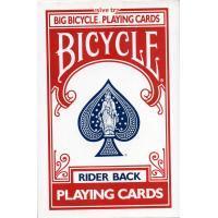 Cartas Bicycle Gigante Rojo 8082 (Naipes Americanos - 53 Cartas) (...