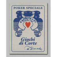 Cartas Giochi di Corti di Timmel (52 Pocker) (Italiano - Modiano)