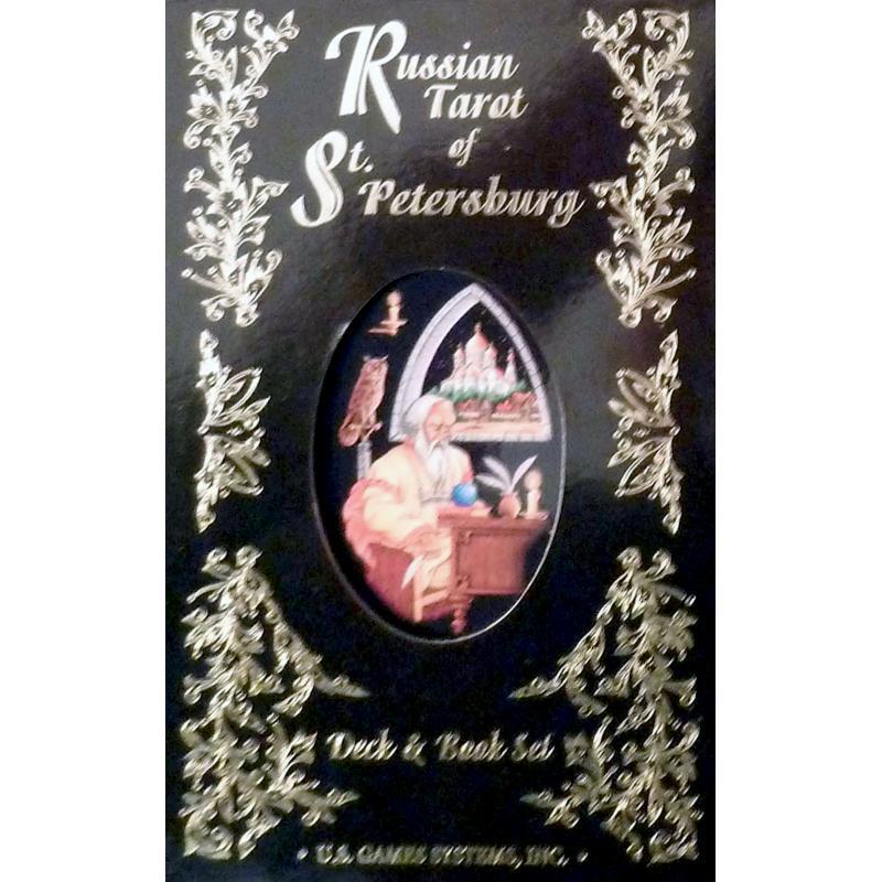 Tarot coleccion Russian Tarot of St. Petersburg - Yury Shakov & Cinthia Giles  (Set) (EN) (U.S.Games) 06/16
