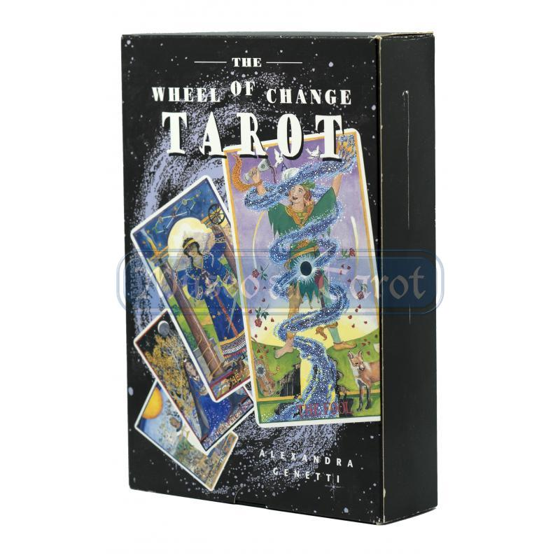Tarot coleccion The Wheel of Change Tarot - Alexandra Genetti (Set) (EN) (Destiny)