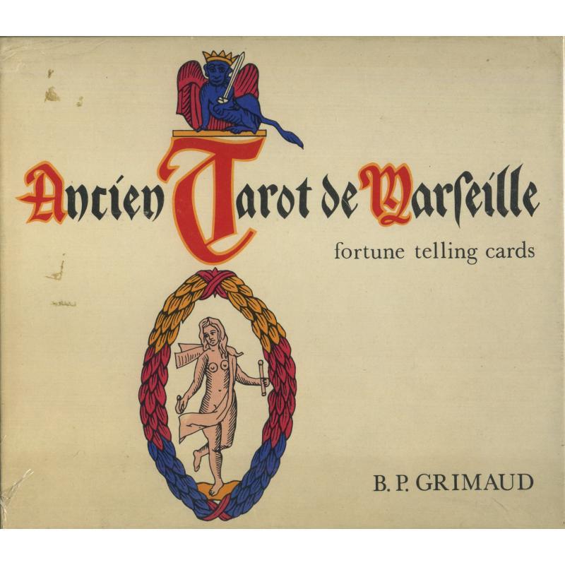 Tarot coleccion Ancien Tarot de Marseille - Fortune Telling Cards (EN, FR) (Grimaud)