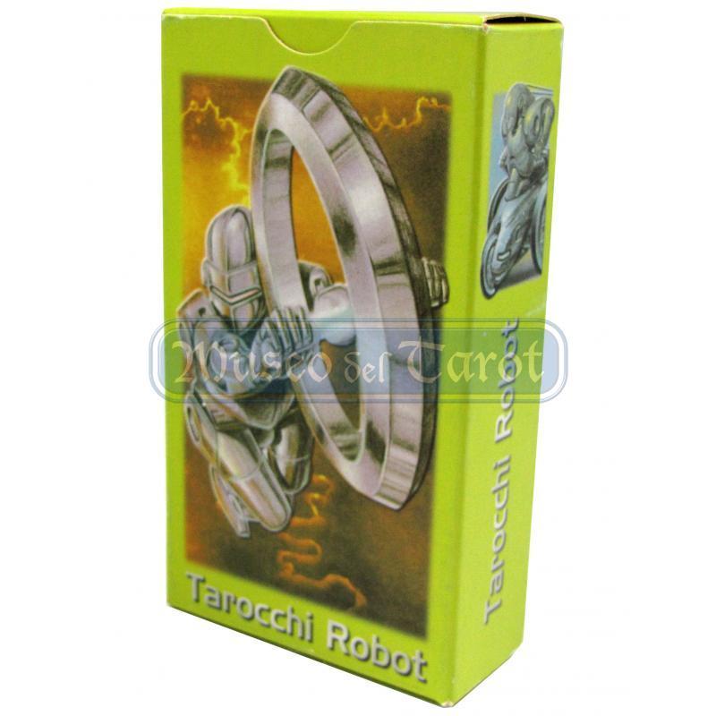 Tarot coleccion Tarocchi di Robot - Giugiaro Berti (IT) (Caja verde) (SCA) 03/16