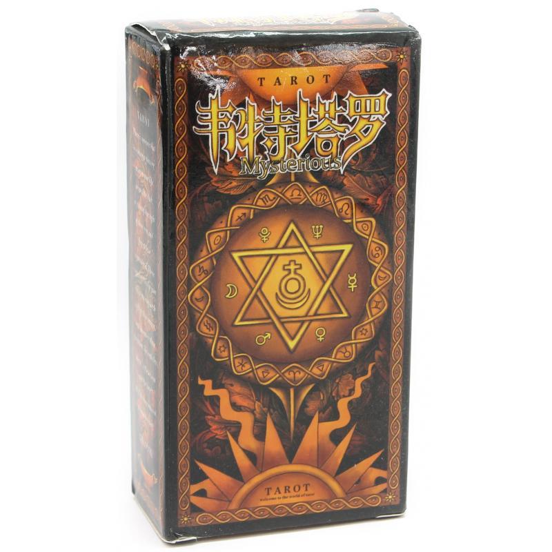 Tarot Coleccion Constellation Tarot - Caja naranja - Version Chinese 2014
