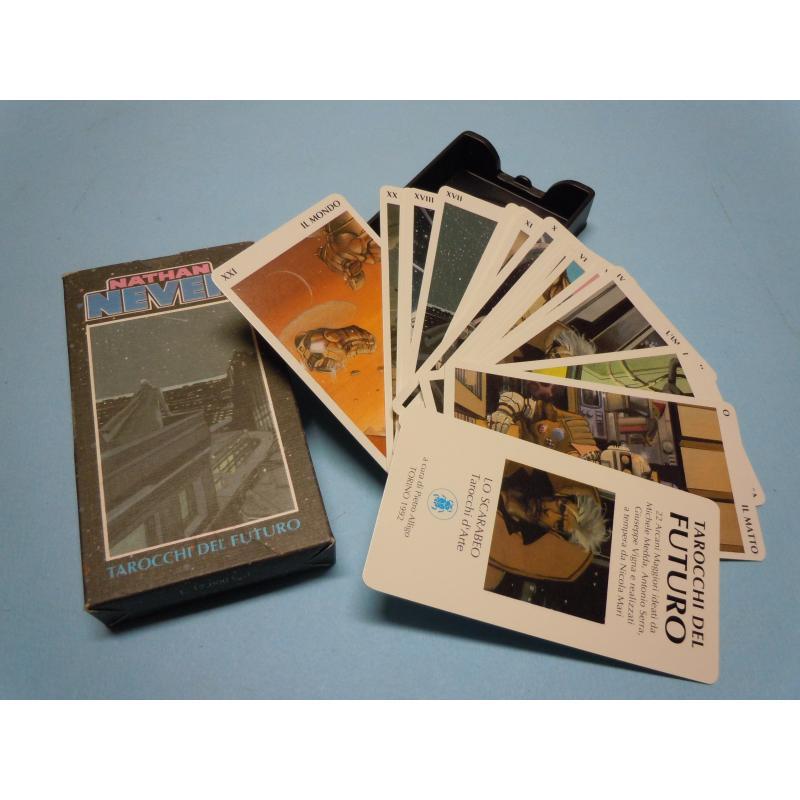 Tarot coleccion Tarocchi del Futuro - Nathan Never (22 Arcanos)) (1992)