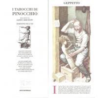 Tarot coleccion I Tarocchi di Pinocchio - Iassen Ghiuselev (Gigante) (IT) (Edizione de luxe 300 ejemplares) (1994) 09/16