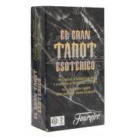 Tarot coleccion El gran Tarot Esoterico (Instrucciones ES, EN, PT) (FOUR) (Negro) (FT)