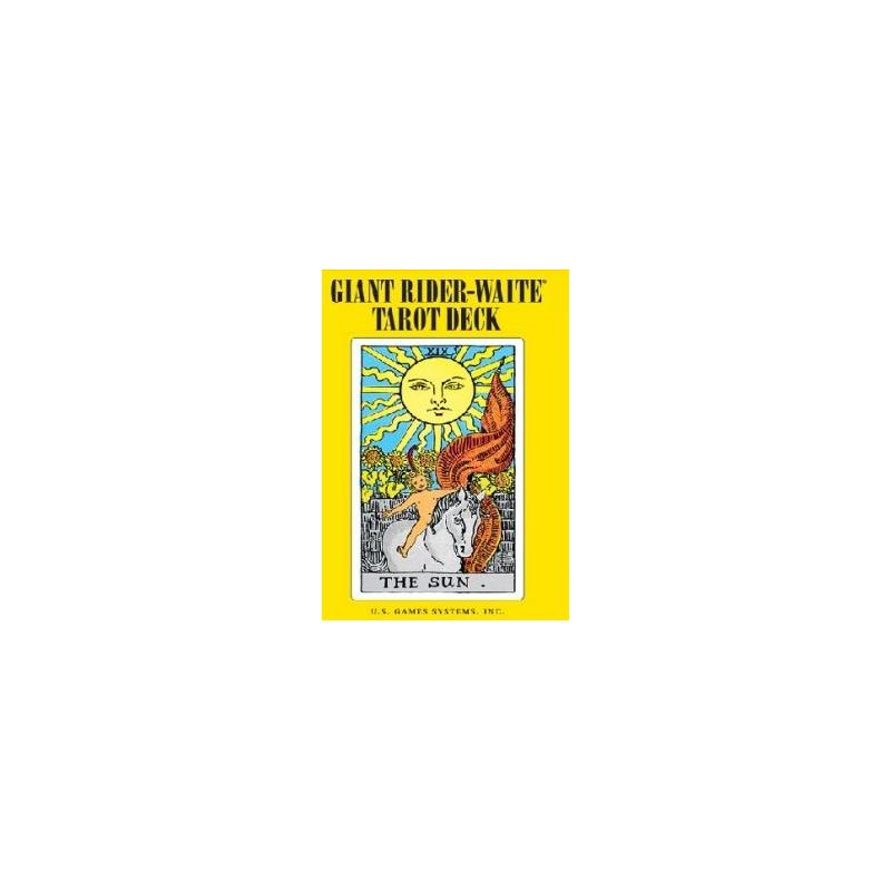 Tarot Rider Waite Giant (Gigante) (EN) (USG) (Printed in China) (2010)