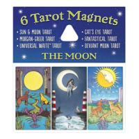 Tarot Magnets The Moon (6 Cartas Imantadas) (USG)