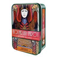 Tarot Aquarian Tarot in a Tin -  (Lata) (David Palladini) (En) (Usg)