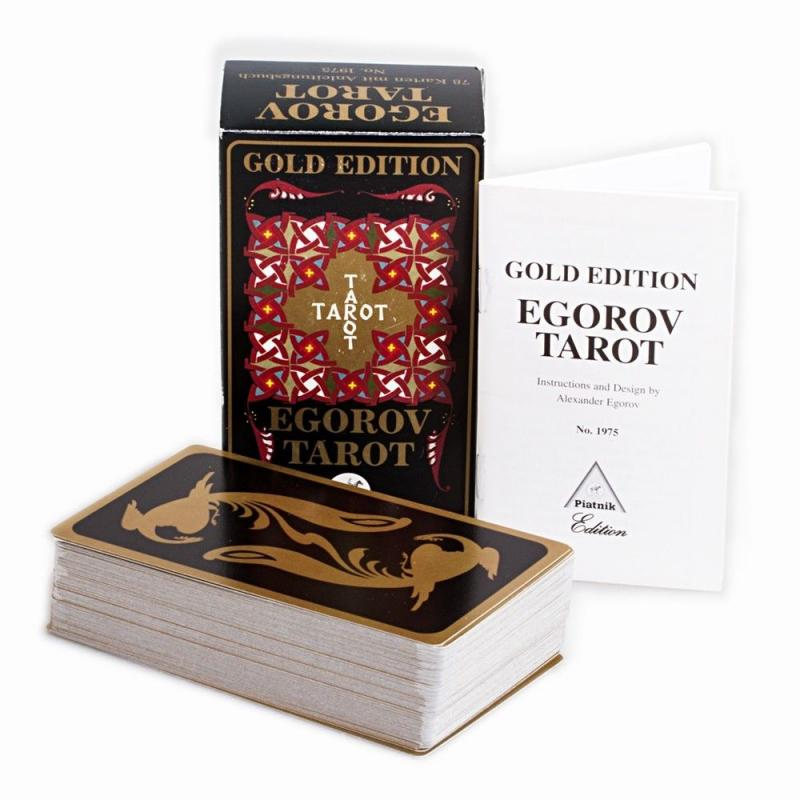 Tarot Egorov - Alexander Egorov (Gold Edition) (EN, DE, FR) (Instrucciones EN) (PIAT)