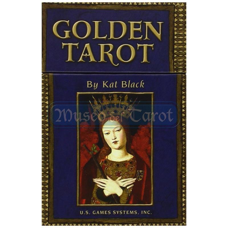 Tarot Golden Tarot - Kat Black (Bordes Dorado) (EN) (USG)
